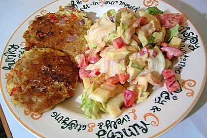 Kartoffel - Zucchini Puffer 2