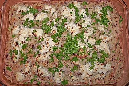 Kartoffelbrei - Auflauf  à la Julia