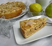 Gedeckter Quittenkuchen (Bild)