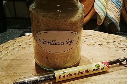 Selbst gemachter Vanillezucker 8