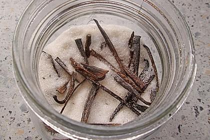 Selbst gemachter Vanillezucker 16