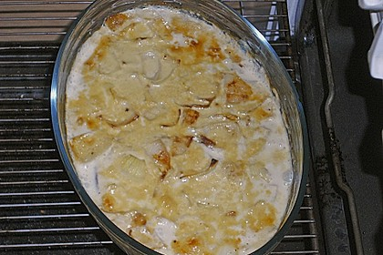 Kasseler in Honig - Senf - Sahne mit Wirsingkartoffeln 11