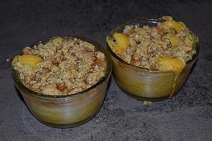 Saftiger Apfelkuchen mit Mandel - Zimt - Streuseln 2