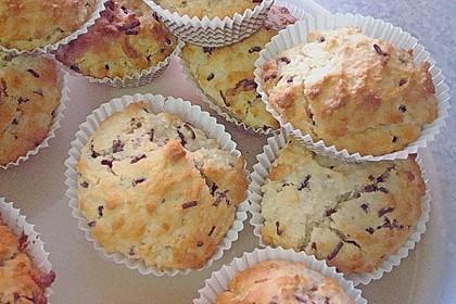 Raffaello - Kokos - Muffins (Bild)