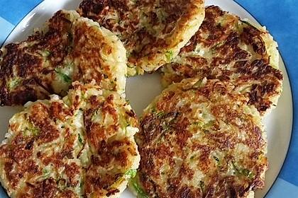 Reis - Zucchini - Puffer