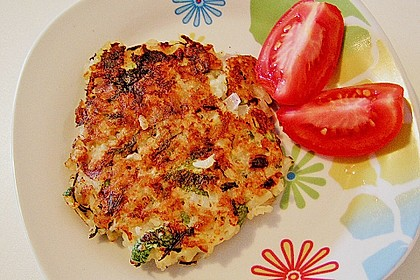Reis - Zucchini - Puffer 1