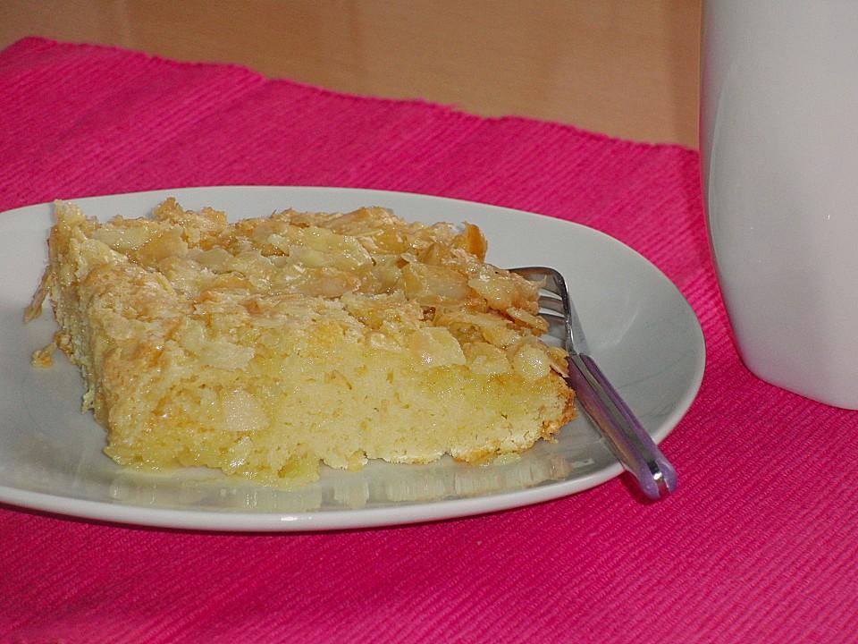 Kuchen schnell mandeln