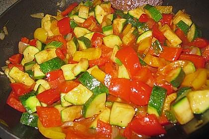 Bulgur - Gemüse - Pfanne 34