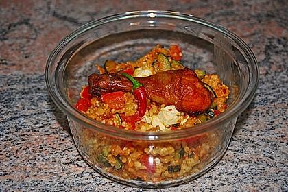 Bulgur - Gemüse - Pfanne 1