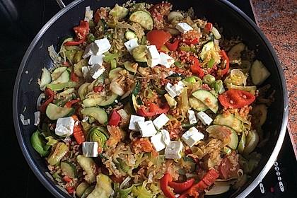 Bulgur - Gemüse - Pfanne 10