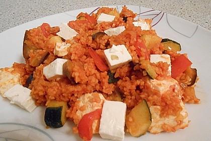Bulgur - Gemüse - Pfanne 30