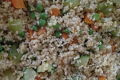 Bulgur - Gemüse - Pfanne 28
