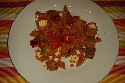 Bulgur - Gemüse - Pfanne 11