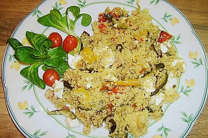 Bulgur - Gemüse - Pfanne 20