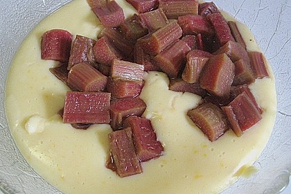 Rhabarber - Vanille - Pudding 4