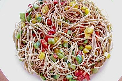 Asiatischer Spaghettisalat 6