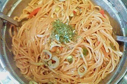 Asiatischer Spaghettisalat 11