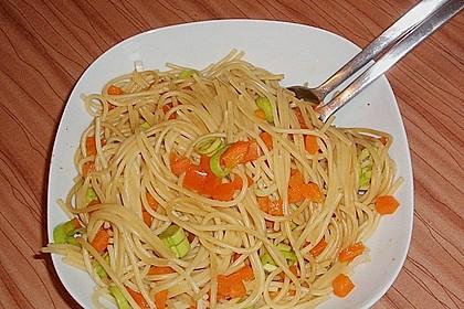 Asiatischer Spaghettisalat 7