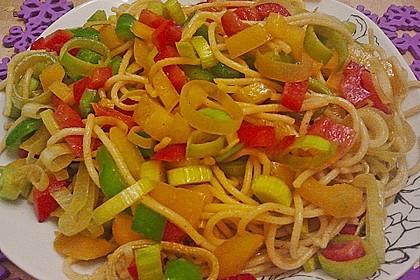 Asiatischer Spaghettisalat 0