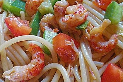 Asiatischer Spaghettisalat 3