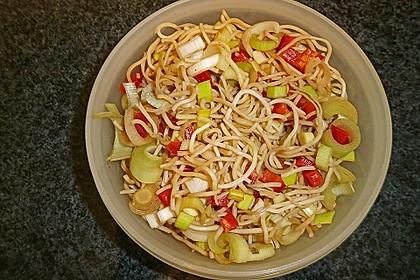 Asiatischer Spaghettisalat 1