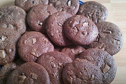 Cookies für Schokoladensüchtige 40