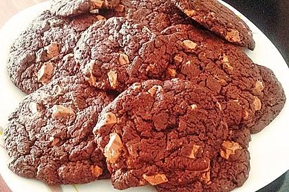 Cookies für Schokoladensüchtige 30