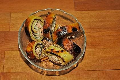 Lachs - Pfannkuchen 13