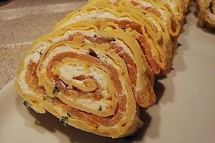 Lachs - Pfannkuchen 3