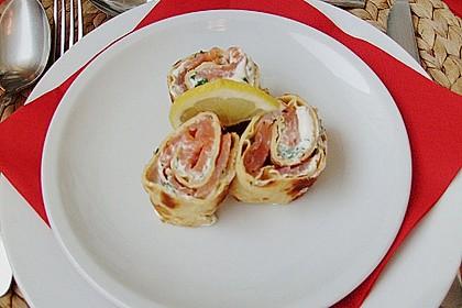Lachs - Pfannkuchen 10