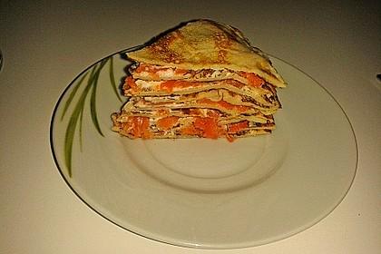 Lachs - Pfannkuchen 8