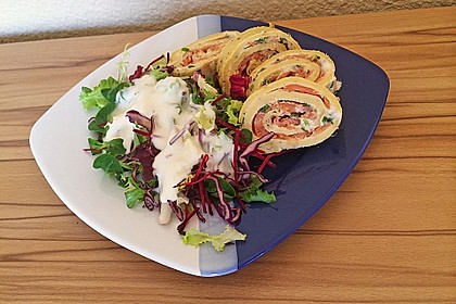 Lachs - Pfannkuchen 2