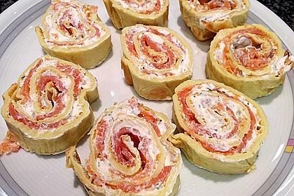 Lachs - Pfannkuchen 7