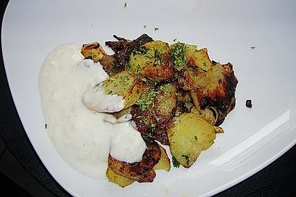 Koriander - Bratkartoffeln 5