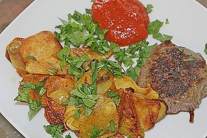 Koriander - Bratkartoffeln 0