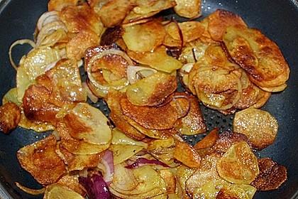 Koriander - Bratkartoffeln 6