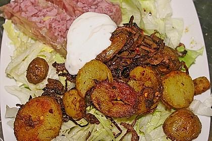 Koriander - Bratkartoffeln 3