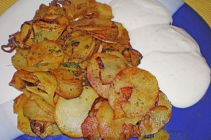 Koriander - Bratkartoffeln 1