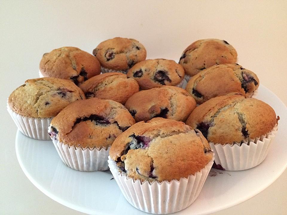 heidelbeer muffins rezept mit bild von smirk. Black Bedroom Furniture Sets. Home Design Ideas