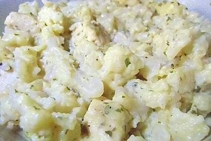 Blumenkohl in Hähnchen - Curry Soße 5