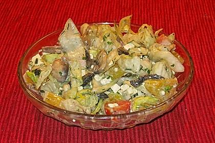 Fitness - Salat mit Champignons 1