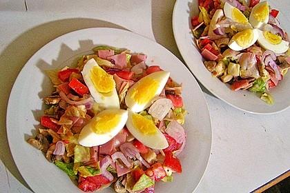 Fitness - Salat mit Champignons