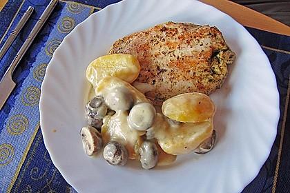 Champignon - Kartoffel - Pfanne