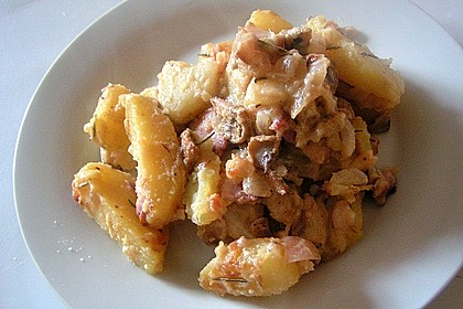 Champignon - Kartoffel - Pfanne 3