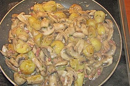 Champignon - Kartoffel - Pfanne 2