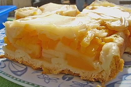 Kürbis - Apfelkuchen 1