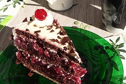 Schwarzwälder - Kirsch - Torte