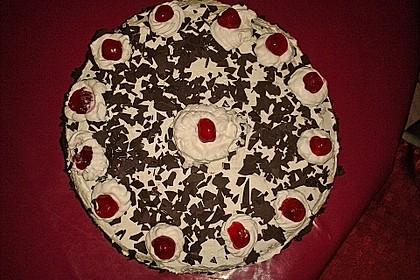 Schwarzwälder - Kirsch - Torte 60