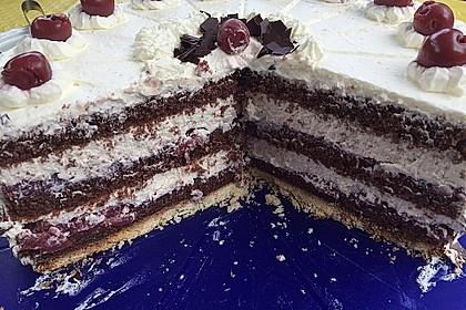 Schwarzwälder - Kirsch - Torte 1