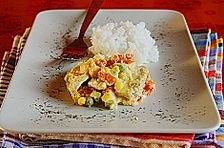 Buttergemüse - Hähnchen